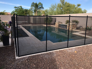 Mesh Pool Fence For Dogs
